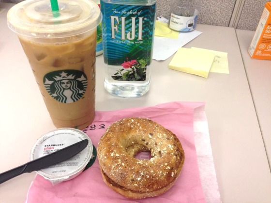 Starbucks Coffee and Bagel.jpg